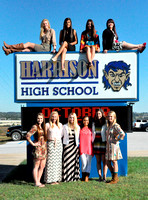 Homecoming maids group photos