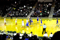 HHS Basketball boys First Round State Tournament