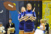 Homecoming Pep Rally-Cheerleaders