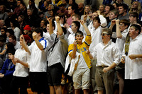 Basketball student section